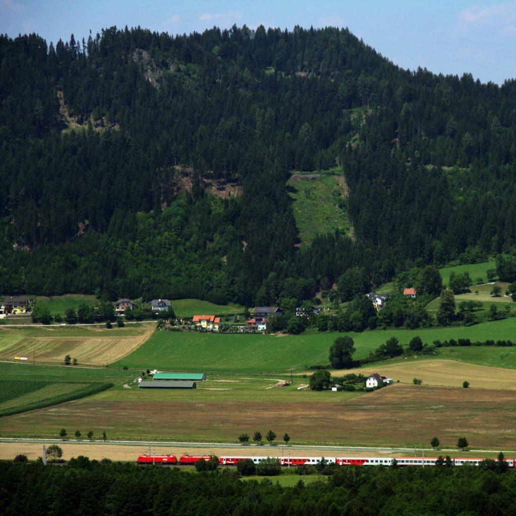 trein naar villach