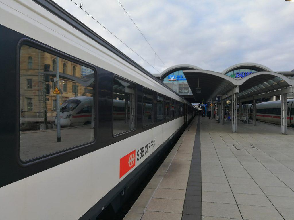 Fiets mee in de trein naar Basel